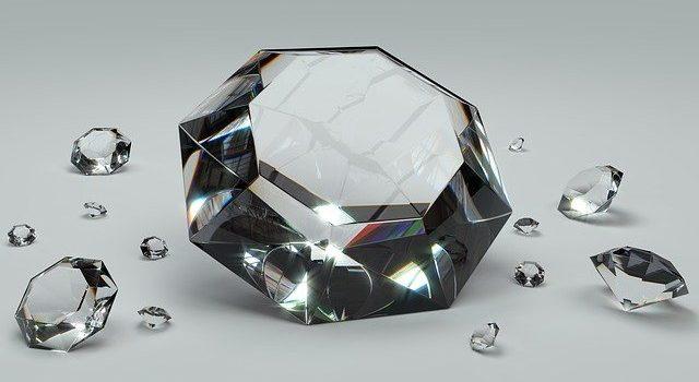 Diamond painting foto